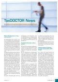 TaxDOCTOR 1/12 - Hammerschmied Hohenegger und Partner - Seite 3