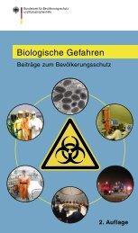 Biologische Gefahren - Interdisziplinäres Expertennetzwerk ...