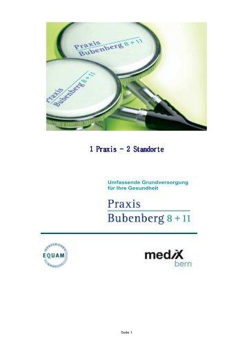 Unser Praxisteam – pdf - Praxis Bubenberg
