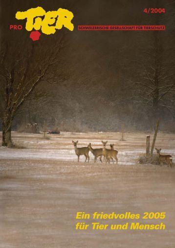 Heft 4/2004 - Pro Tier