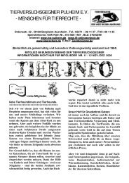 Ausgabe Dezember 2006, Teil 1 - TVG Pulheim