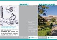Kontakt Kinderurologie - Klinikum Niederberg