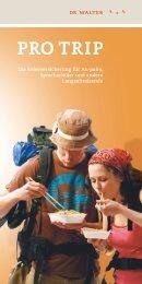 Die Reiseversicherung für Au-pairs Sprachschüler ... - Experiment eV