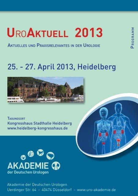 UroAktUell 2013 - Akademie der Deutschen Urologen