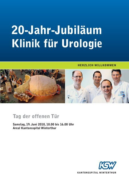 20-Jahr-Jubiläum Klinik für Urologie - Kantonsspital Winterthur
