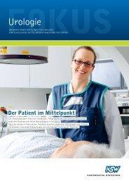 Aufenthalt in der Klinik für Urologie - Kantonsspital Winterthur