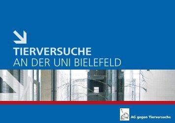 """""""Broschüre: Tierversuche an der Uni Bielefeld"""" (PDF - AG gegen ..."""
