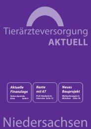 Tierärzteversorgung Niedersachsen