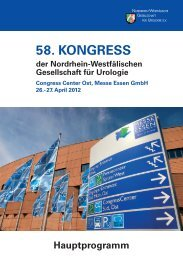 58. Kongress der nordrhein-Westfälischen gesellschaft für Urologie