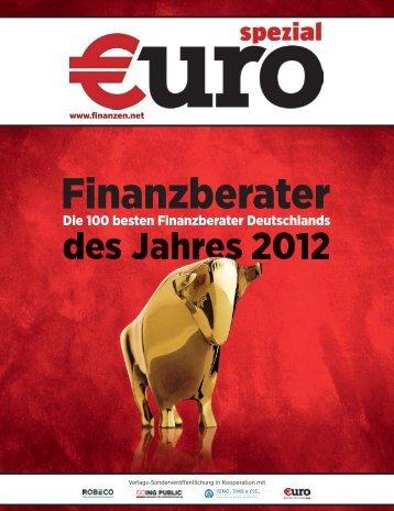 Finanzberater des Jahres 2012 - Strack Investment