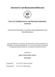 universität der bundeswehr münchen fakultät für wirtschafts