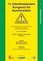 11. Interdisziplinärer Kongress für Suchtmedizin - Ihr kompetenter ...