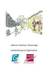 """""""Männer-Checkup""""-Aktionstage Handreichung zur Organisation"""