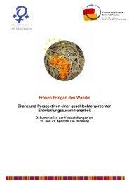 Frauen bringen den Wandel - Randzio-Plath, Christa