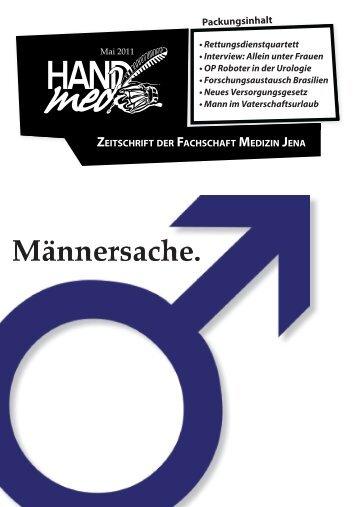 Männersache. » PDF-Download - Fachschaft Medizin der FSU Jena