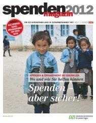 Spenden - Deutsches Zentralinstitut für soziale Fragen
