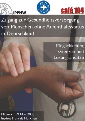 Ergebnisse Fachtag 2008 - Ärzte der Welt e.V.
