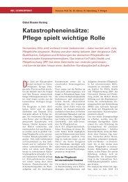 Katastropheneinsätze: Pflege spielt wichtige Rolle - IPP - Universität ...