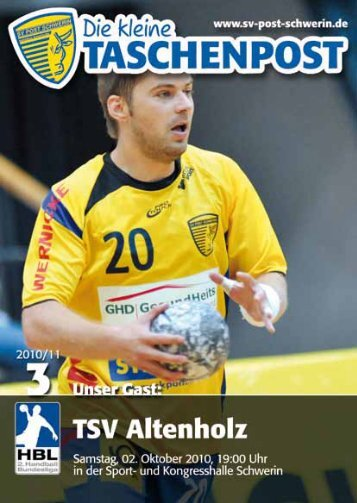 auch als PDF-Datei - SV Post Schwerin - Handball-Bundesliga
