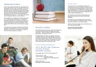 Flyer Stressless Academy - Universität Bonn