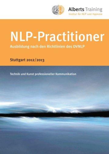 Alberts NLP-Practioner 2012 - Alberts Training