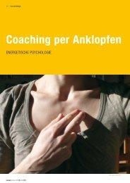 Coaching per Anklopfen - VPTN