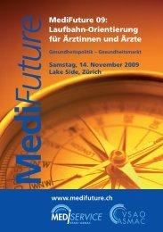 MediFuture 09: Laufbahn-Orientierung für Ärztinnen und Ärzte
