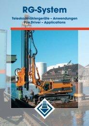 und Vibrationsverfahren Vibrator systems - AGD Equipment