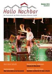 Hallo Nachbar 31 - Die Mieterzeitschrift der Wohn+Stadtbau GmbH ...