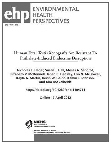Heger et al - Human Fetal Testis Xenografts Are Resistant To ...