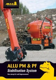 ALLU PM & PF - AGD Equipment