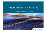 Agder Energi - Vannkraft - Agdereierne