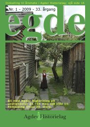 Egde - Agder Historielag 02 2006.qxd