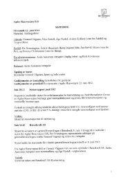 Styreprotokoll 12 juni 2012 - Agder Renovasjon