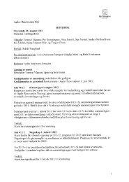 Protokoll - Agder Renovasjon