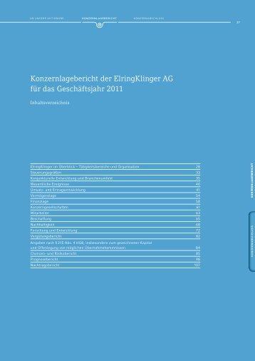 Kapitel als PDF - ElringKlinger Geschäftsbericht 2011
