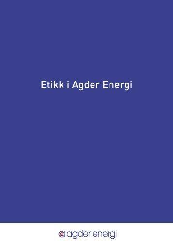 Etikk i Agder Energi - Netnordic