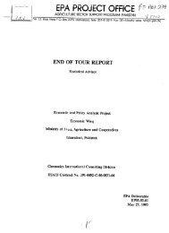 EPA PROJECT OFFICE - - (PDF, 101 mb) - USAID