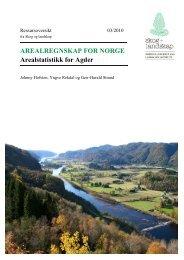 Arealstatistikk for Agder - Skog og landskap