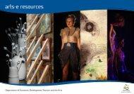 arts-e resources - PDF 3 MB - Arts Tasmania - Tasmania Online