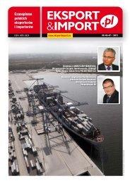 Czytelnicy pytają o - Eksport&Import