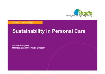 Rhodia Sustainability in Personal Care AGD 1009finalext