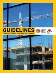 Guidelines for a Successful Project