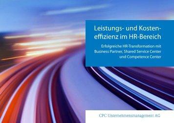HR Process Excellence - CPC Unternehmensmanagement AG