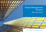 Project Management Services - CPC Unternehmensmanagement AG