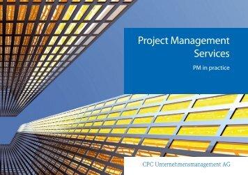 Project Management Services - CPC Unternehmensmanagement AG