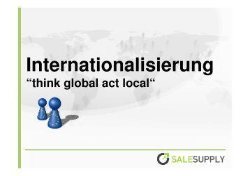 Henning Heesen_Salesupply AG ... - Internet World
