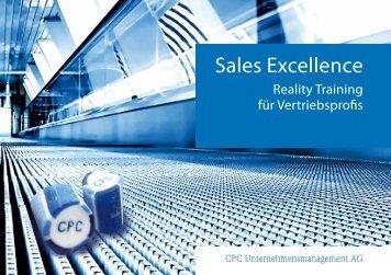 Sales Excellence - Reality Training für Vertriebsprofis - CPC ...