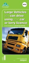 Large Vehicles you can drive using your car or lorry licence - DVLA