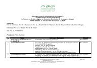 Arbeitsgemeinschaft Gynäkologische Onkologie e - AGO-Online ...